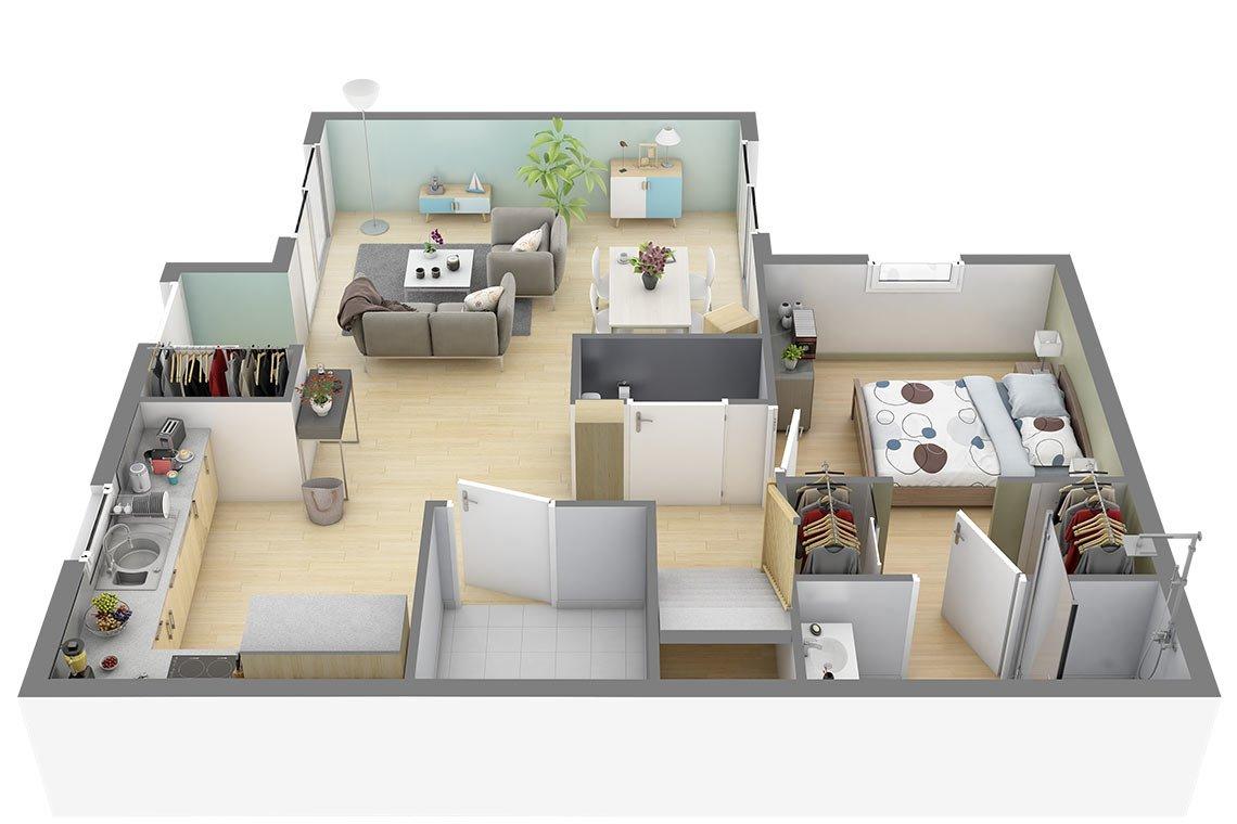 Focus 80 Plan Et Modele De Maison