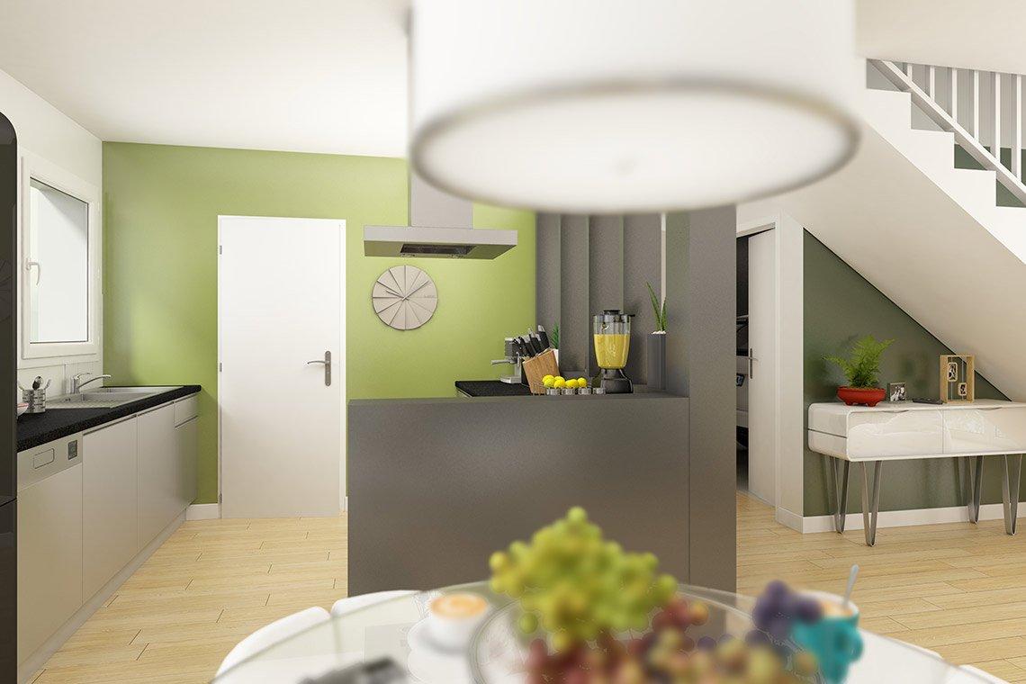 Zephyr NL Pmr Cuisine Ouverte Maisons Coherence - Maisons ...